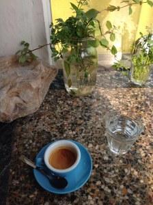A nice little cappuccino from La Mano in Takoma Park.